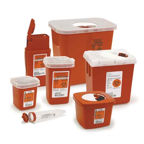 емкость контейнер для сбора острого медицинского инструмента класса б